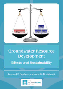 Portada del libro Groundwater Resource Management
