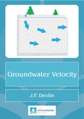 book cover for Groundwater Velocity